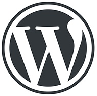 WordPress logotype all WordPress W Mark resized